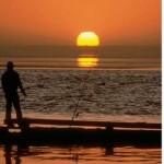 Coucher de soleil sur mer 33