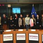 Femina Europa présente la «Déclaration des Femmes»  au Parlement Européen.