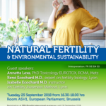 La fertilité naturelle à l'honneur à Bruxelles avec René et Isabelle Ecochard